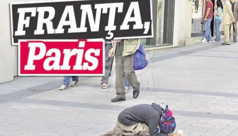 Romania vazuta de straini: Tiganii manati de saracie la cersit in Europa si infractori in cautare de victime