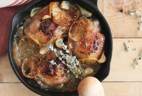 Friptură de gâscă în sos