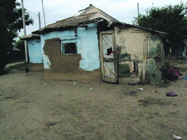 Romii traiesc ca in evul mediu in comuna Frumusani