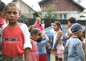 Romii din România în presa străină