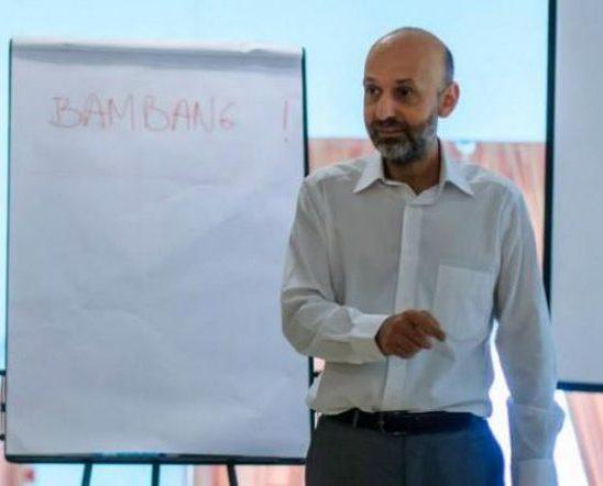Valeriu Nicolae, cetățean român de etnie romă, reprezentant special al secretarului general al Consiliului Europei pentru chestiuni legate de romi