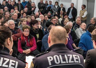 Locuitorii unui oraș din Germania se organizeaza contra românilor