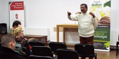 O seară inedită despre romi (şi nu numai) cu Rudy Moca