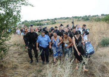 Pogrom anti-ţigănesc într-un sat din Ucraina