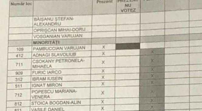 Câţi bani primesc minorităţile ai căror deputaţi au votat Codul penal
