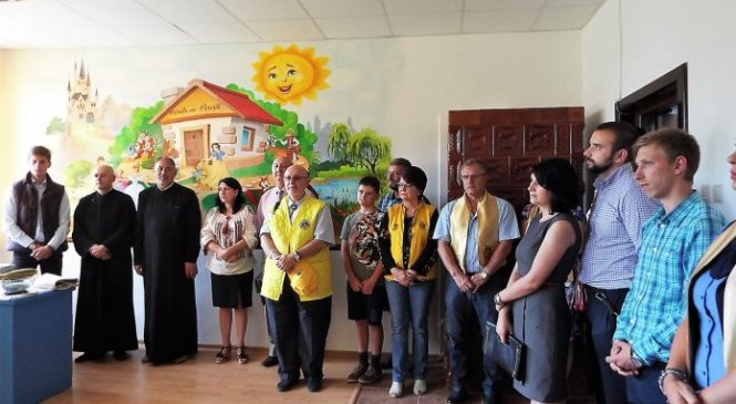 Grădiniţa Lions pentru copiii romi din Şupan