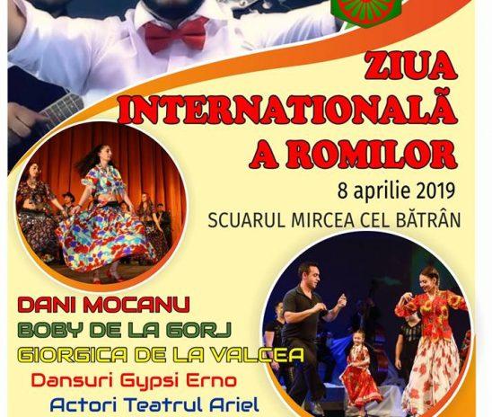 ZIUA INTERNATIONALA A ROMILOR – 8 APRILIE LA VALCEA