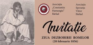 "Asociatia ""Constantin Hamangiu"" Barlad marcheaza ""Ziua dezrobirii romilor"
