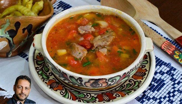 Ciorba sau Bors tiganesc ( traditional)