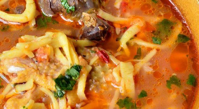 Despre leveșe, supa cu gust de Bihor